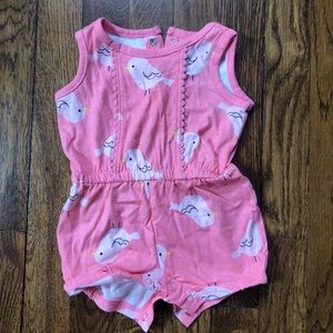 """""""Just one You""""romper made by carters"""